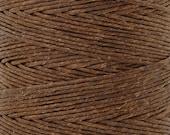 Tools & Supplies-12-Ply Waxed Irish Linen-Walnut Brown-10 Yards