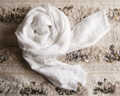 the ingrid washed linen scarf