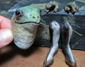 Green Frog #12 Anthro Art Doll Parts