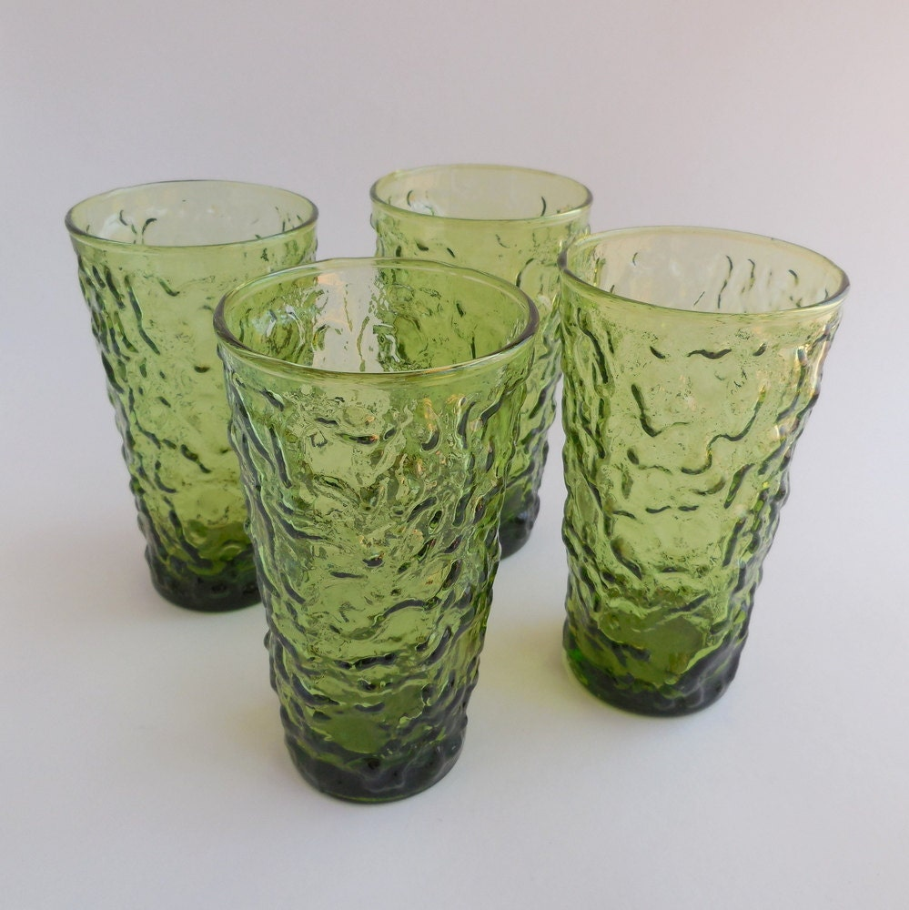 Anchor Hocking Glassware Forest Green Anchor Hocking Green Milano