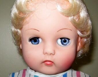 "Vinyl Doll ""Women's Own"" Vintage Toys"