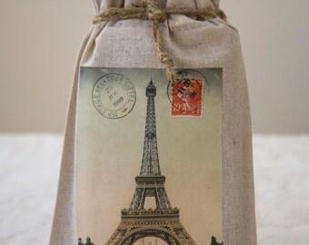 Eiffel Tower Journal and Gift Bag / Journal / Paris / Eiffel Tower