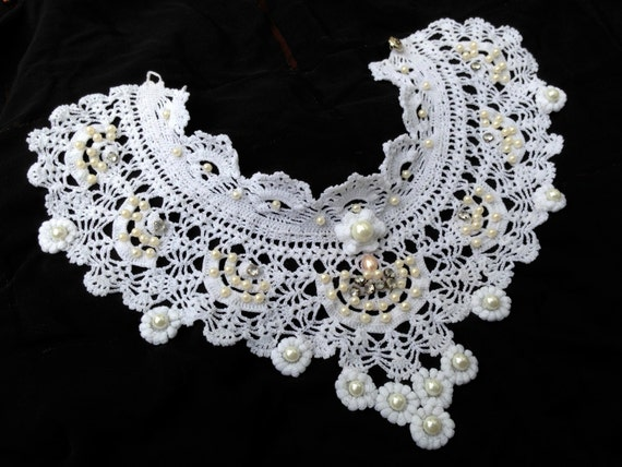 Victorian Collar - My Swedish friend is going back to School by Dom Klary