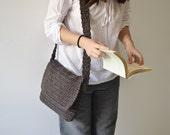 Hand made Hippie Bag, Shoulder Crochet  Bag 1970s