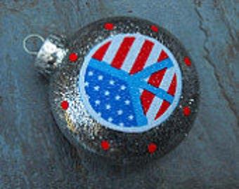 Single Ornaments - American Peace