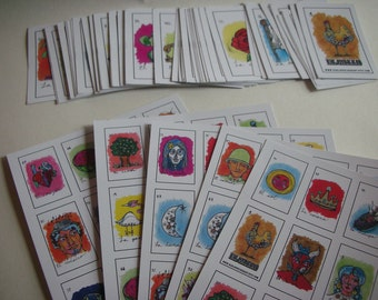L a   L o t e r i a - Mexican Board Game/ Mexican Bingo/ Mexican Loteria