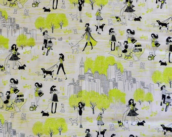 City Fabric Girls in the City Fabric Modern Fabric Quilting Fabric Sewing Fabric Timeless Treasure Fabric by the Yard