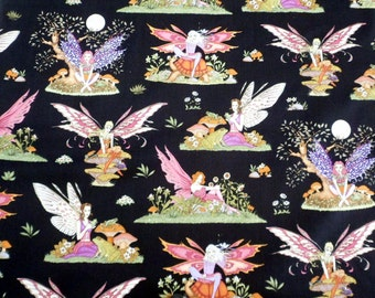 Fairy Fabric Enchanted Kingdom Fabric RJR