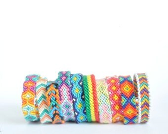 friendship bracelet - made to order - you choose pattern and colors