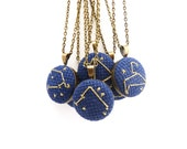 Custom Petite Zodiac Constellation Necklace