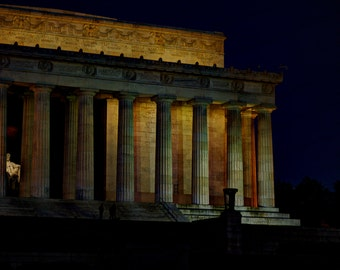 Lincoln Memorial at Dawn - Fine Art Photography print - Home Decor - Wall Art