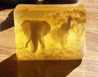 gorgeous elephant soap calendula honey soap