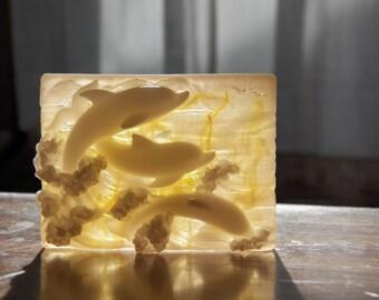 gorgeous dolphin soap calendula honey