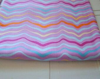 Melissa Averinos Fabric, Sugar Snap Fabric, Wiggle Plum, Free Spirit Fabric  OOP Last Yard