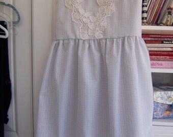 dress spring dress lace dress jumper