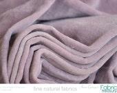 Velvet fabric by the yard. Cotton. Velvet upholstery fabric. Nursery decor. Lavender velvet. VINTAGE MEMORIES Sweet lavender.