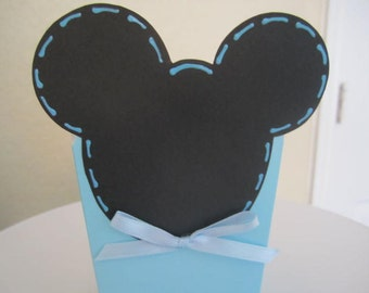 Set of 12 BABY MICKEY MOUSE Party Favor Boxes