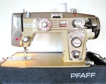 Vintage Zig Zag Sewing Machine Instruction Manual Pfaff 995 Calanda