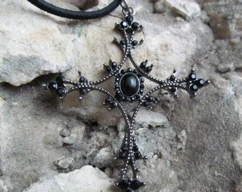 Cross Necklace Christian Necklace Religious Pendant Z 1