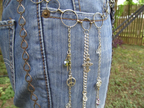jean jewelry jean chains charms chain by
