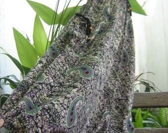 Comfy Roomy Cotton Printed Pants - B1002-13