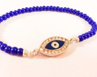 Luck of the Eye Evil Eye Stretch Bracelet Nazar