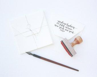 Custom Calligraphy Stamp