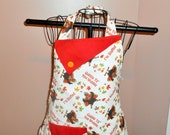 Gobble Till You Wobble/I'm Stuffed Thanksgiving Apron