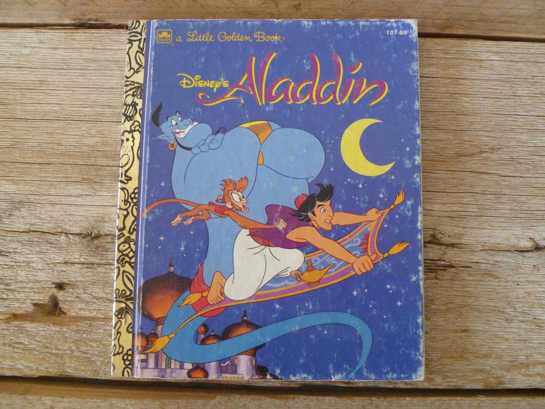 aladdin golden book