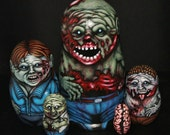 Zombie Matryoshka Dolls