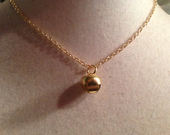 Bell Necklace - Jingle Bell Necklace - Gold Jewelry - Pendant Jewellery - Fashion - Style