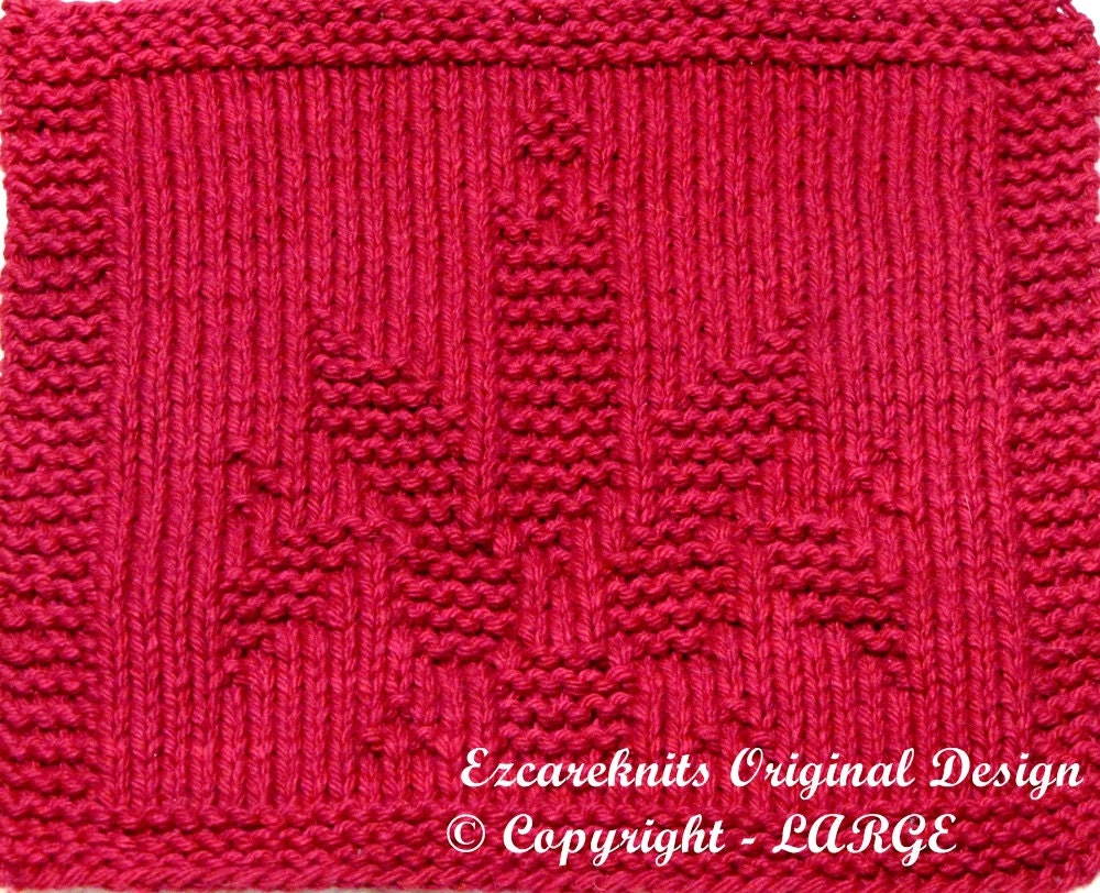 Knitting Holidays Uk : Large knitting cloth pattern holiday candle pdf