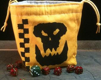 Orc Clan Dice Bag - Da Flashy Gits