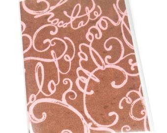 SALE Passport Cover Chocolate