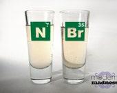 Breaking Bad Shot Glasses- Heisenberg (set of 2)