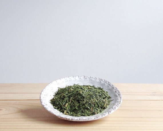 Green Glow Elixir Tea Blend - organic sencha, matcha, spearmint, refreshing loose leaf green tea