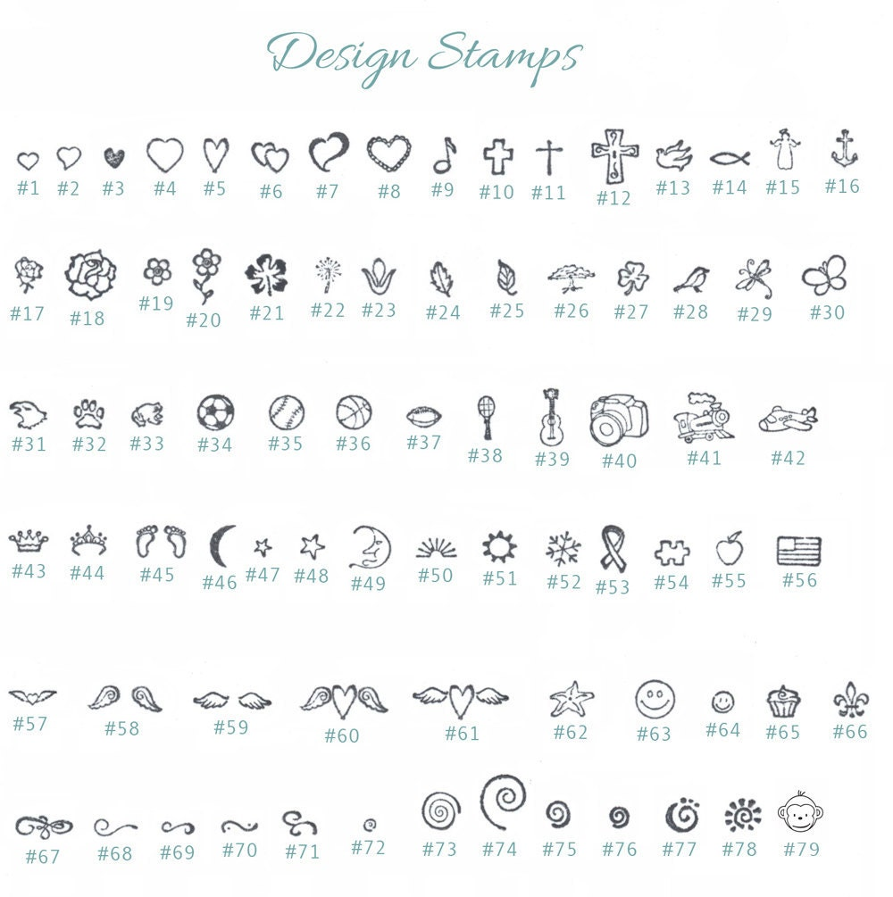 how to read a silver stamp chart