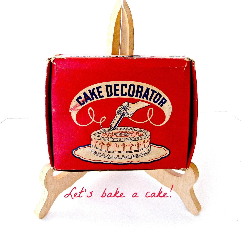 Vintage Ateco Cake Decorating Set