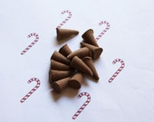 Candy Cane Scented Cone Incense - Incense Cones - Aromatherapy - Aroma - Essense - Home Decor - Gift for Adults