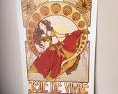 Joie De Vivre Poster