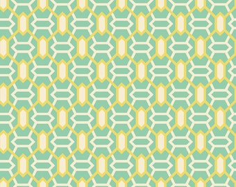 Marquis in Jade  (JD50) - Joel Dewberry Fabric HEIRLOOM for Free Spirit - By the Yard
