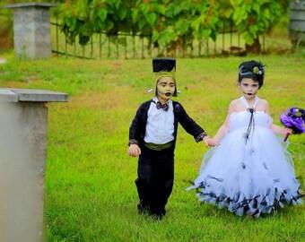Mini Bride of Frankenstein Halloween Costume