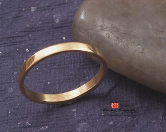 Gold Bands in 22k