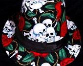 Skull & Roses limited-edition fedora hat