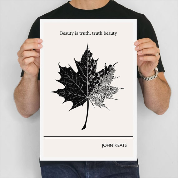 beauty is truth essay Beauty, unlike truth or nature, is something we make ourselves philip ball is a british science writer, whose work appears in nature , new scientist and prospect , among others.
