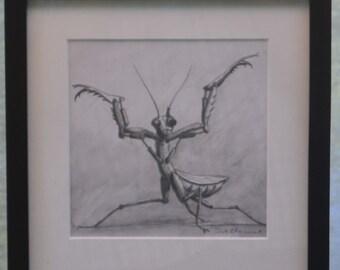 """Original Drawing """"Mechanical Killer"""""""