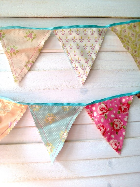 shabby chic bunting - photo #28