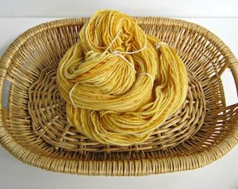 Handspun Sundrop Merino Wool Single Ply Yarn