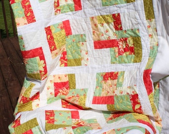 Lazy Days of Summer Twin Bed Quilt