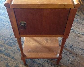 Smoking Table. Vintage Smoking Table